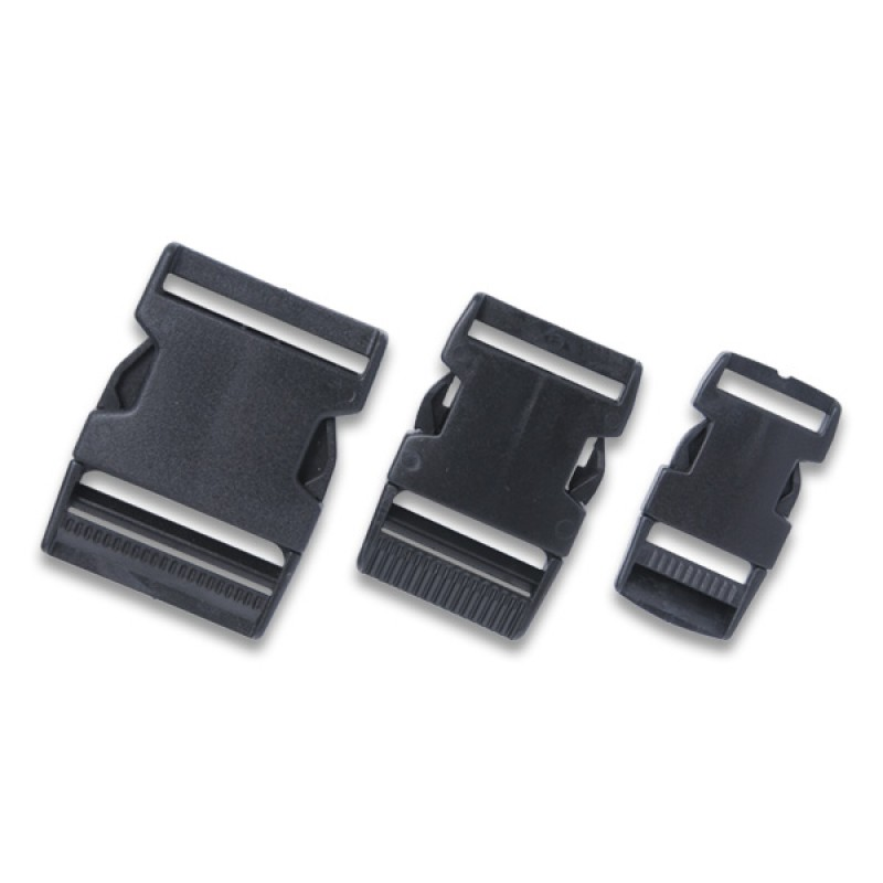 Replacement Heavy Duty Black Nylon Buckle