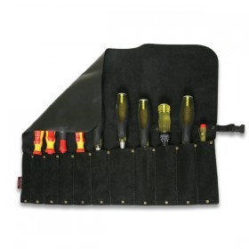 Leather Chisel/Tool Roll 11 Pocket
